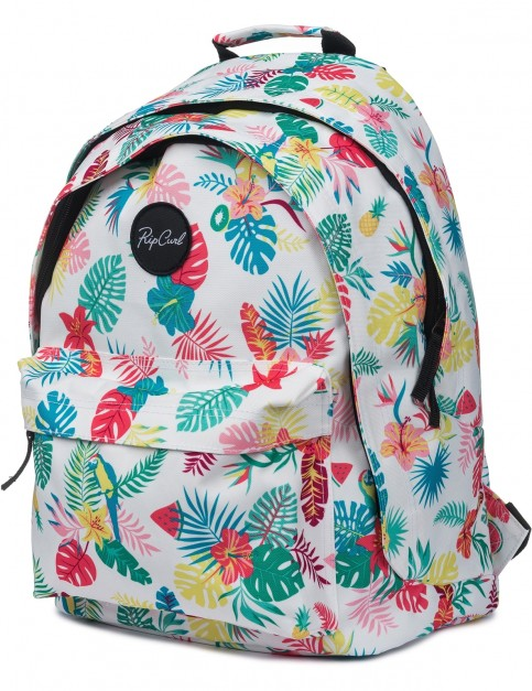 Rip Curl Double Dome Flora Backpack in White