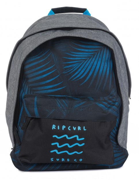 Rip Curl Double Dome Glow Wave Backpack in Blue