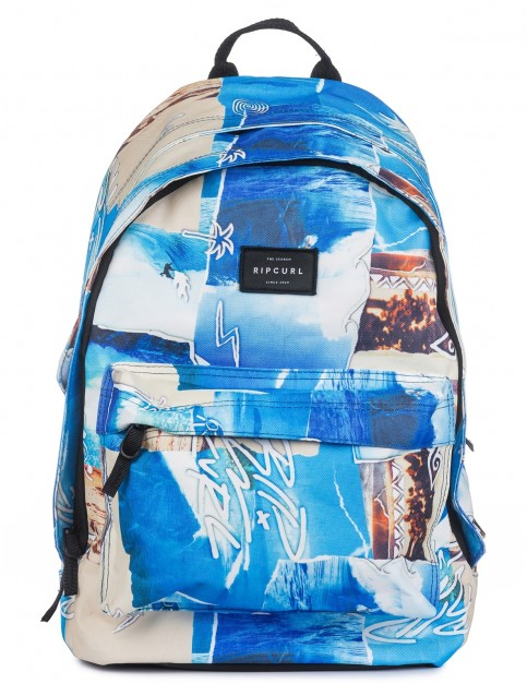 Rip Curl Double Dome Poster Vibes Backpack in Multico