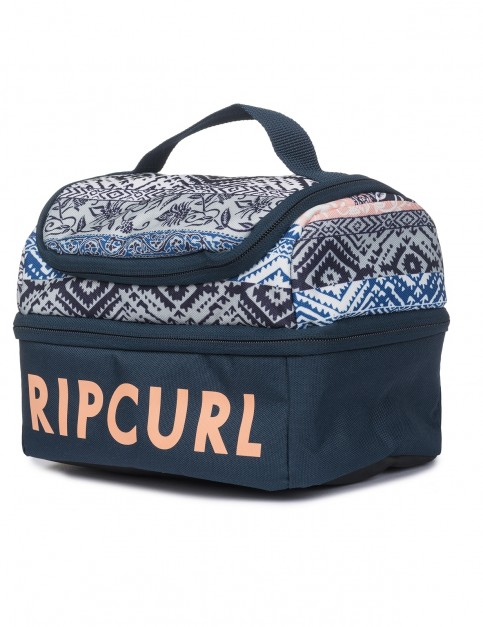 Rip Curl Double Up Mixed Lunchin B Cool Bag in Navy
