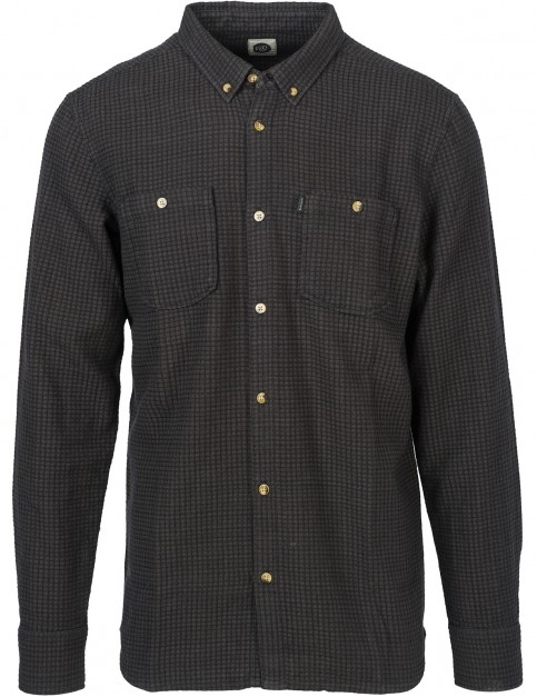 Rip Curl Duke Long Sleeve Shirt in Phantom