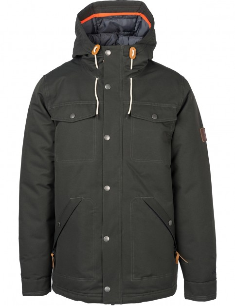Rip Curl Easyrider Anti-Series Parka Jacket in Phantom