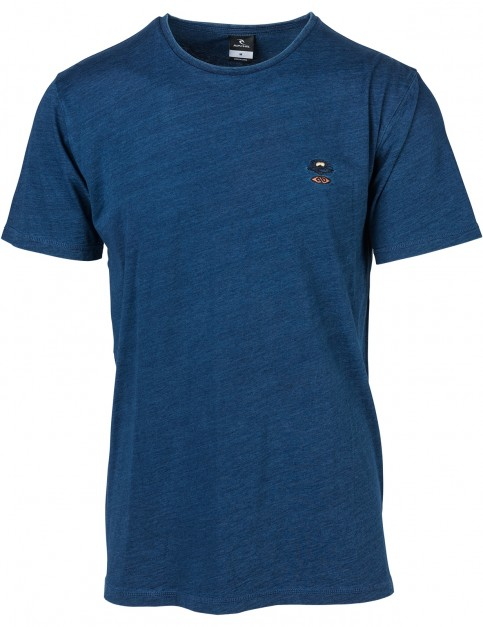 Rip Curl Embroidsearch Short Sleeve T-Shirt in Peacoat Middle
