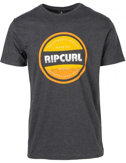 Rip Curl Essential Bigmama Short Sleeve T-Shirt in Dark Marle