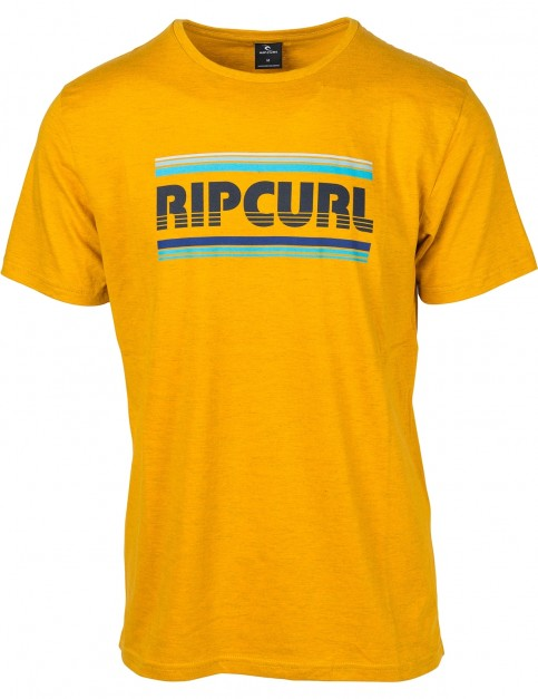 Rip Curl Essential Bigmama Short Sleeve T-Shirt in Golden Yellow M