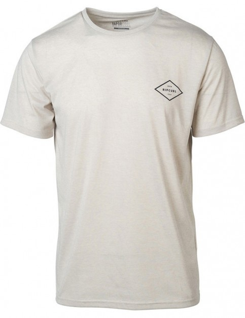 Rip Curl Essential Surfers Short Sleeve T-Shirt in Bone Marle