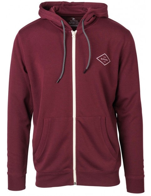 Rip Curl Essential Surfers Zipped Hoody in Tawny Port