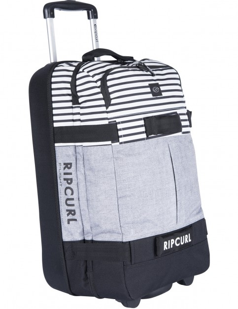 Rip Curl Essentials Flight Transit Wheeled Luggage in Black