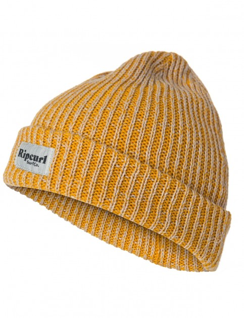 Rip Curl Everyday Beanie in Golden Yellow