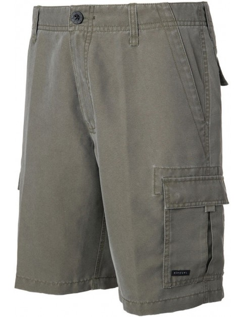 Rip Curl Explorer Cargo Mid Length Boardshorts in Sea Turtle