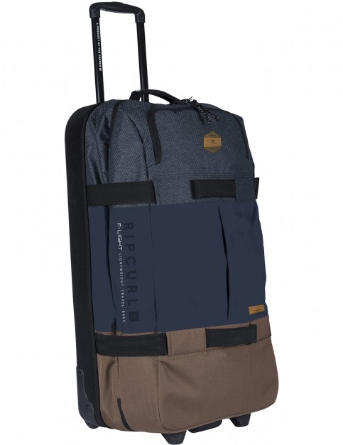 Rip Curl F-Light 2.0 Global Stacka Wheeled Luggage in Navy