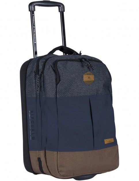 Rip Curl F-Light 2.0 Transit Stacka Wheeled Luggage in Navy