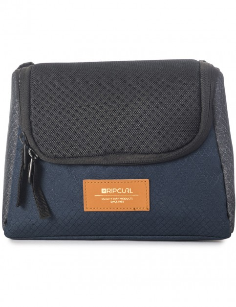 Rip Curl F-Light Toiletry Stacka Wash Bag in Navy