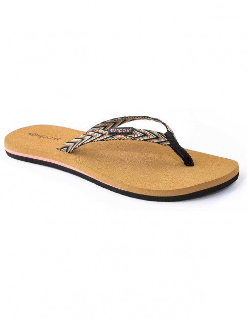 Rip Curl Freedom Flip Flops in Multi Tan