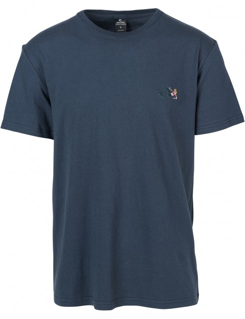 Rip Curl Fun & Easy Short Sleeve T-Shirt in Mood Indigo