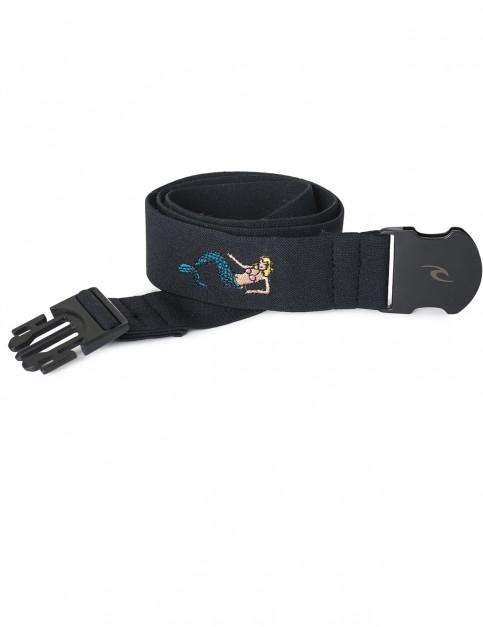 Rip Curl Fun & Easy Webbing Belt in Black