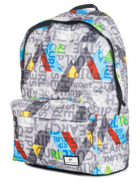 Rip Curl Geo Party Dome Backpack in Grey