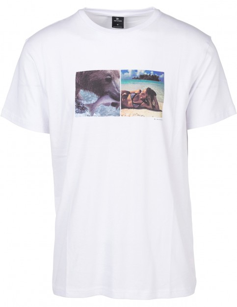 Rip Curl Good Day / Bad Day Short Sleeve T-Shirt in White