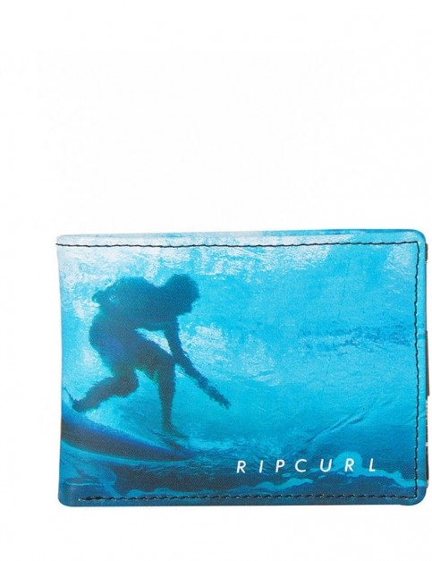 Rip Curl Good Day Bad Day Pu Slim Faux Leather Wallet in Blue