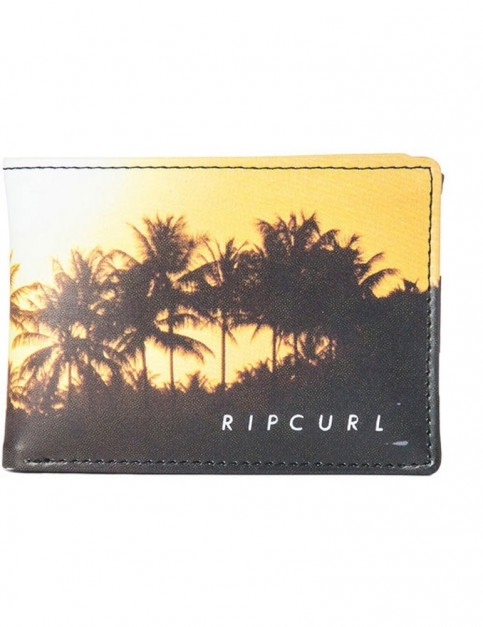 Rip Curl Good Day Bad Day PU Slim Faux Leather Wallet in Yellow