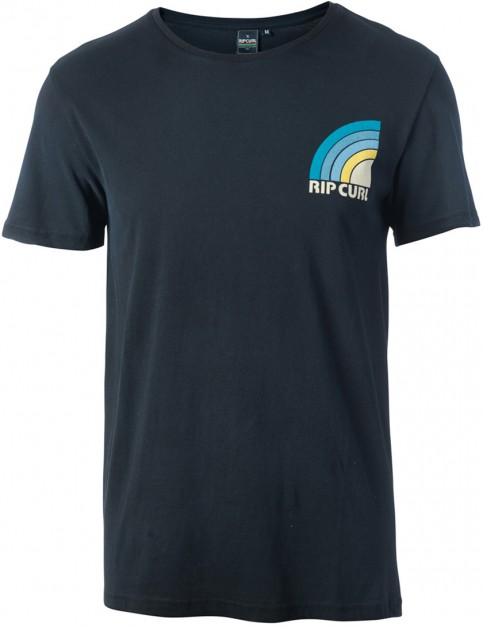 Rip Curl Retro Mama's Short Sleeve T-Shirt in Black