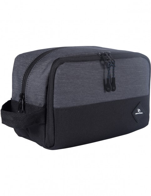 Rip Curl Groom Toiletry Midnight Wash Bag in Midnight