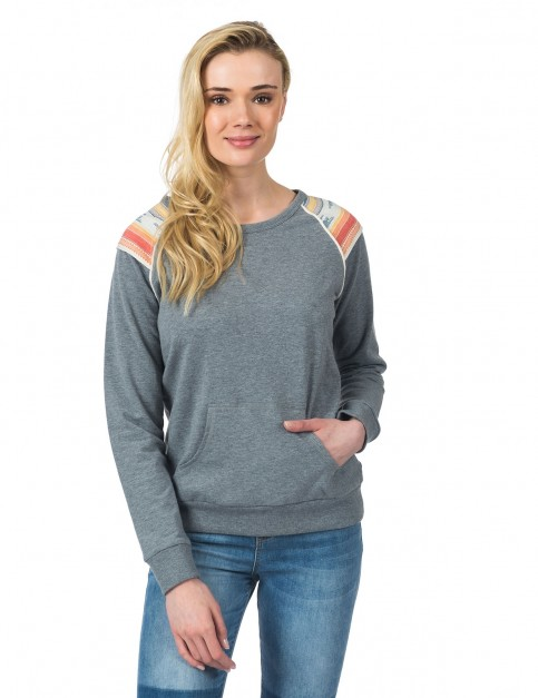 Rip Curl Itcha Fleece Sweatshirt in Cement Marl