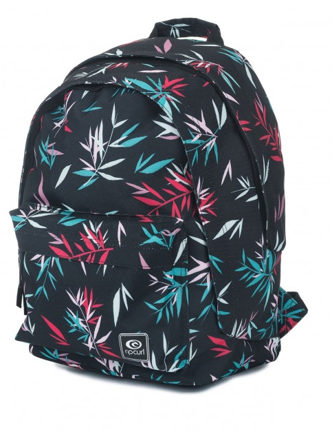 Rip Curl Las Dalias Double Dome Backpack in Black