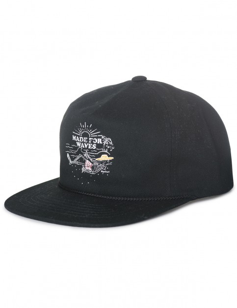 Rip Curl Lazy Skull Cap in Black