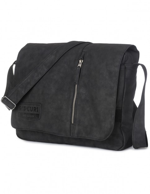Rip Curl Leazard Satchel Messenger Bag in Black