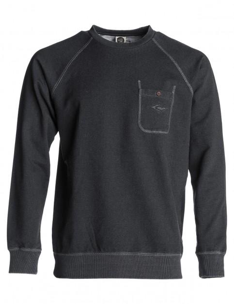 Rip Curl Legacy Crew Sweatshirt in Phantom Middle