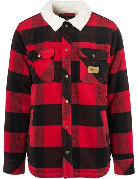 Rip Curl Lumber Jacket in Baked Apple