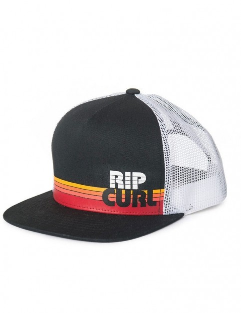 Rip Curl Macao Trucker Cap in Black