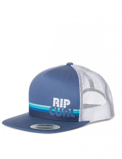 Rip Curl Macao Trucker Cap in Blue Indigo