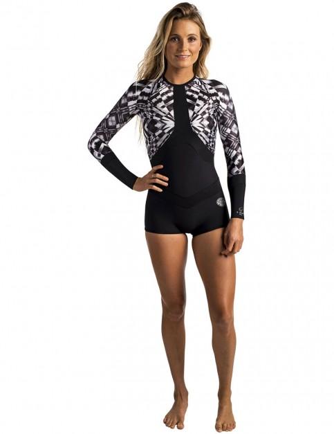 Rip Curl Madi Boyleg Wetsuit in Black/White