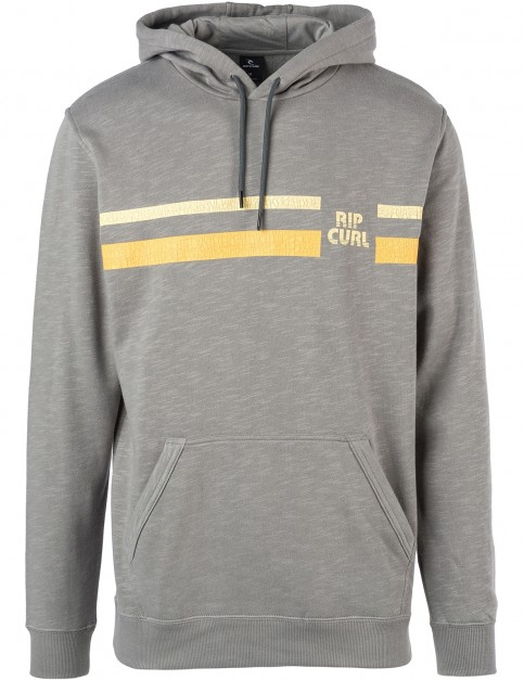 Rip Curl Mama Heritage Pullover Hoody in Grey Flannel