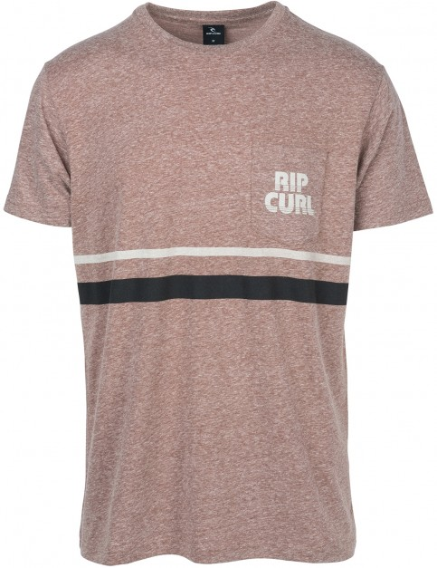 Rip Curl Mama Heritage Short Sleeve T-Shirt in Marron