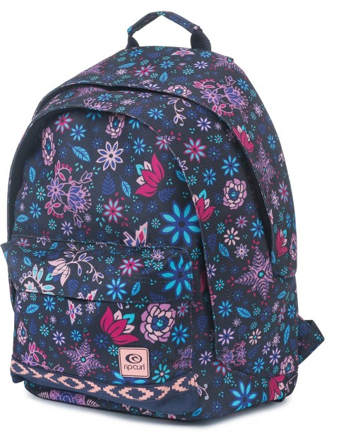 Rip Curl Mandala Double Dome Backpack in Dark Blue