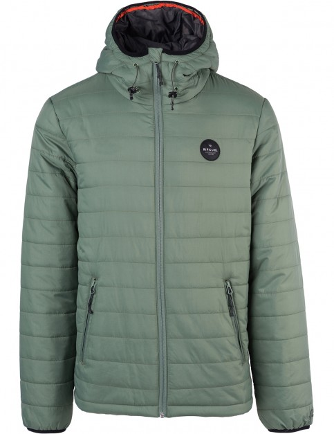 Rip Curl Melter Insulated Jacket in Green