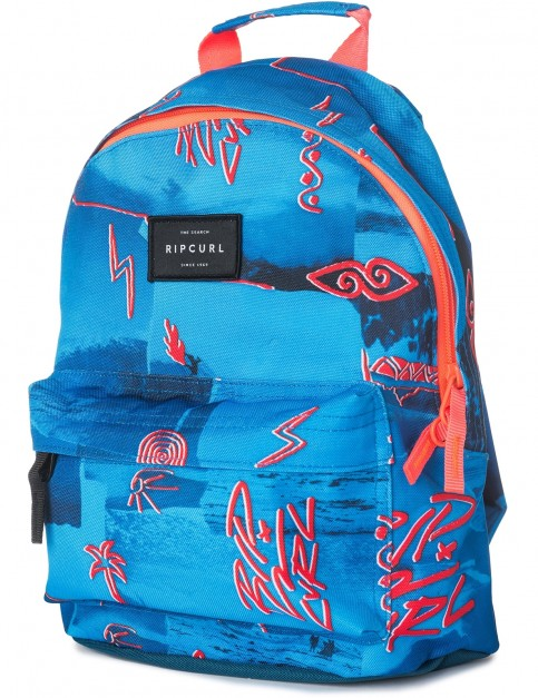 Rip Curl Mini Dome Poster Vibes Backpack in Blue