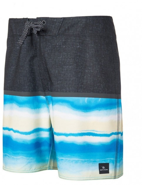 Rip Curl Mirage Black Beach 18 Mid Length Boardshorts in Multi