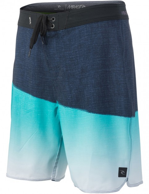 Rip Curl Mirage Gravity Mid Length Boardshorts in Teal