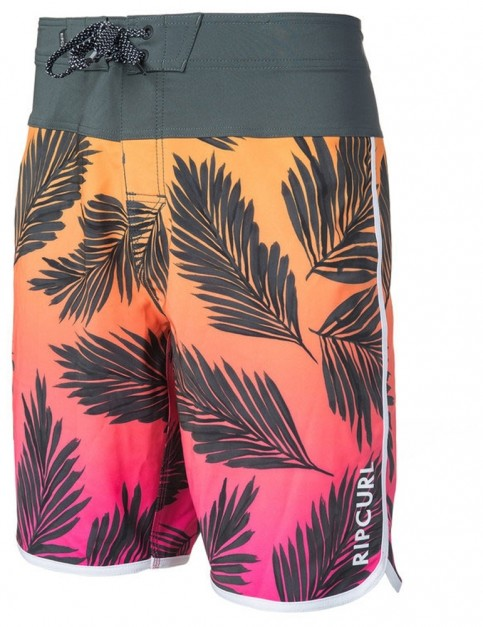 Rip Curl Mirage Mason Rockies 20 inch Mid Length Boardshorts in Pink