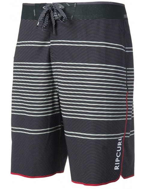 Rip Curl Mirage Transmit Ult 20 inch Mid Length Boardshorts in Black