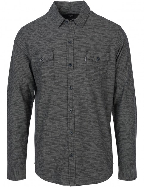 Rip Curl Mushy Long Sleeve Shirt in Black