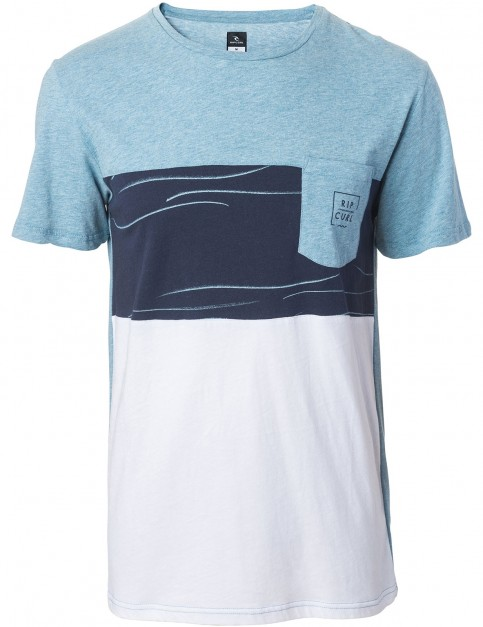 Rip Curl New Combine Tee Short Sleeve T-Shirt in Arona Marl