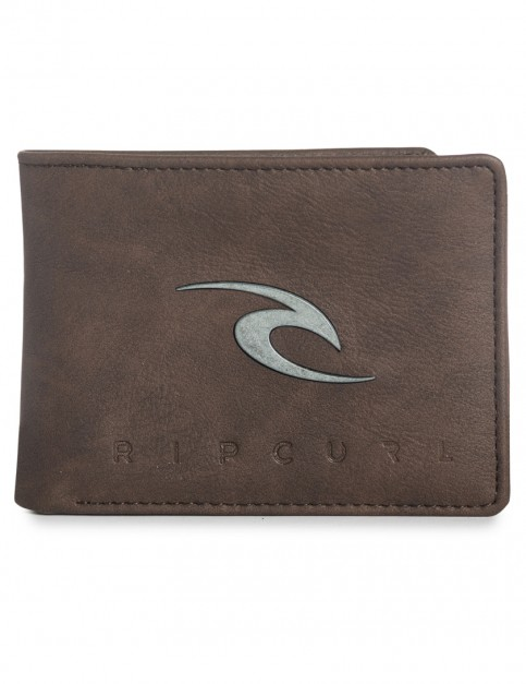 Brown Rip Curl New Ride All Day Faux Leather Wallet