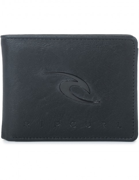 Rip Curl New Ride PU All Day Faux Leather Wallet in Black