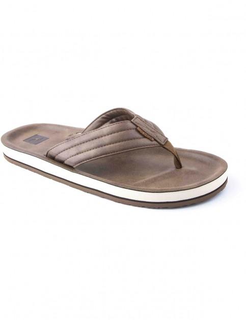 Rip Curl Og5 Flip Flops in Tan
