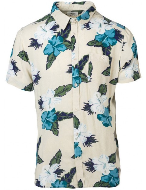 Rip Curl On Board Short Sleeve Shirt in Tofu
